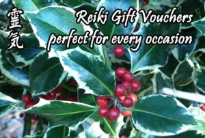 holly Reiki gift voucher